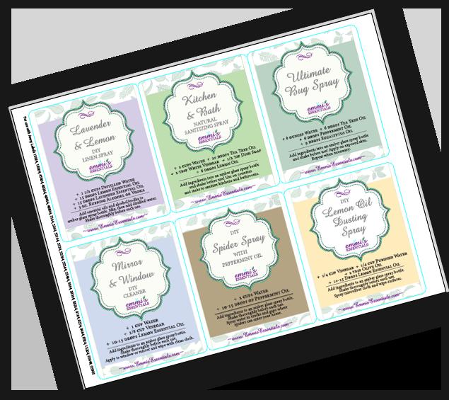 recipe cards graphic